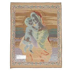 Arazzo Madonna Tempi di Raffaello Sanzio 65x50 cm s2