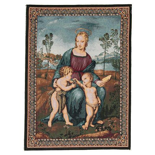 Arazzo Madonna Del Cardellino di Raffaello Sanzio 65x50 cm 1