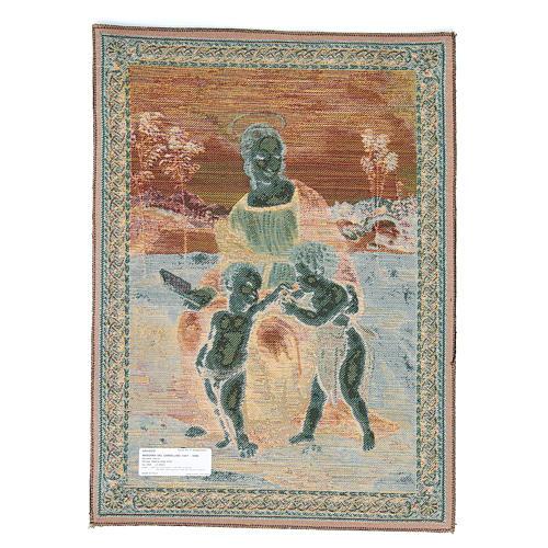 Arazzo Madonna Del Cardellino di Raffaello Sanzio 65x50 cm 2