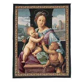 Arazzo Madonna Aldobrandini di Raffaello Sanzio 65x50 cm s1