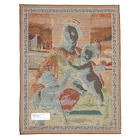 Arazzo Madonna Aldobrandini di Raffaello Sanzio 65x50 cm s2