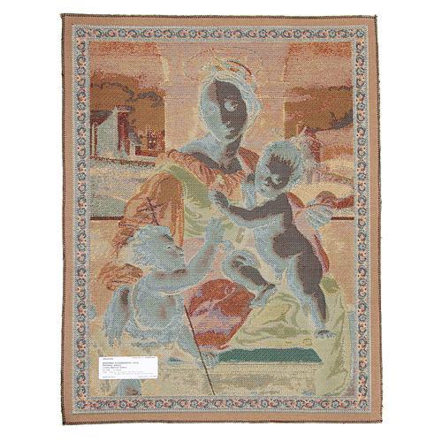 Arazzo Madonna Aldobrandini di Raffaello Sanzio 65x50 cm 2