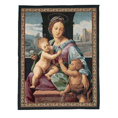 Aldobrandini Madonna by Raphael tapestry 65x50cm