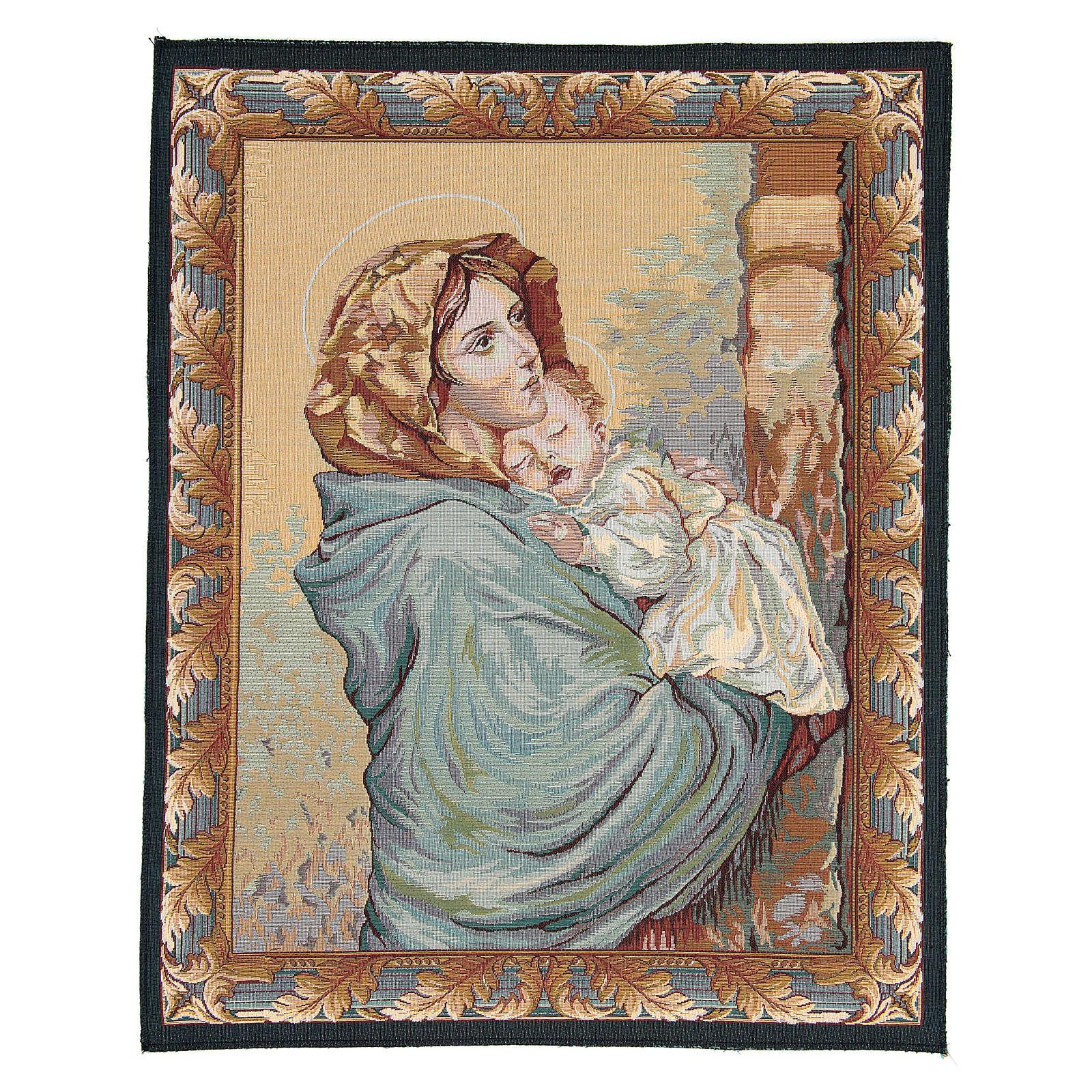 Arazzo Madonna del Ferruzzi 65x50 cm 3