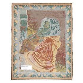 Arazzo Madonna del Ferruzzi 65x50 cm s2