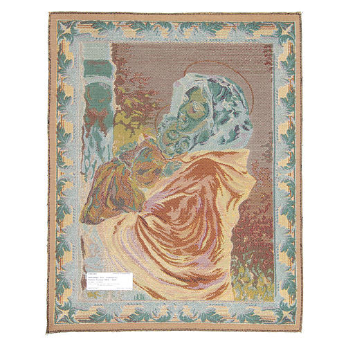 Madonna of the Streets by Ferruzzi tapestry 65x50cm