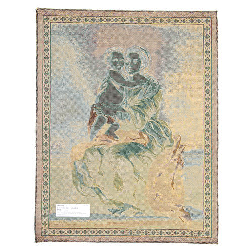Arazzo Madonna Del Rosario di Bartolomé Esteban Pérez Murillo 65x50 cm 2
