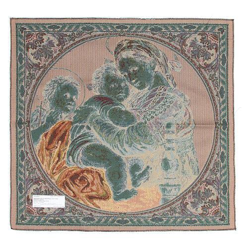 Tapiz VIrgen de la Silla Raffaello Sanzio 65 x 65 cm 2