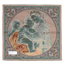 Arazzo Madonna della Seggiola di Raffaello Sanzio 65x65 cm s2
