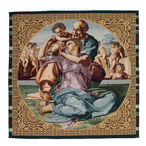 Doni Tondo by Michelangelo tapestry 65x50cm