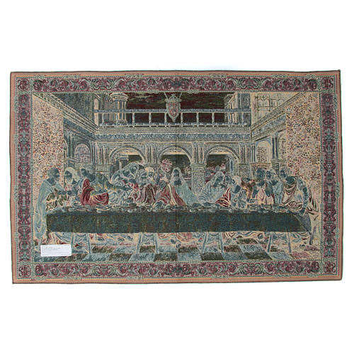 Tapestry inspired by Leonardo's Last Supper 65x110cm 2