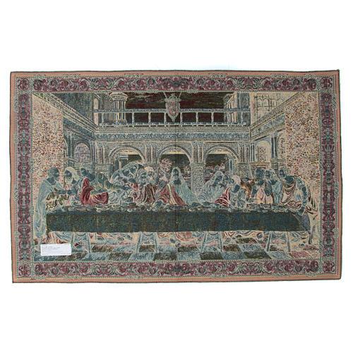Tapeçaria inspirada à Última Ceia de Leonardo da Vinci 65x110 cm 2
