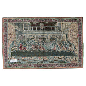 Tapestry inspired by Leonardo's Last Supper 65x110cm s2