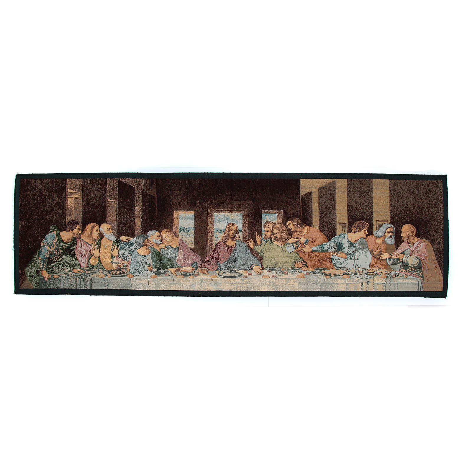 Arazzo ispirato all'Ultima Cena di Leonardo da Vinci 45x65 cm 3