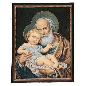 Wandteppich Heiliger Josef 65x50cm s1