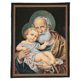 Saint Joseph tapestry measuring 65x50cm s1