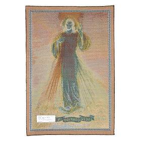 Tapeçaria de Cristo Misericordioso 65x45 cm s2