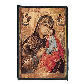 Arazzo icona Madonna Passione cm 65x45 s1
