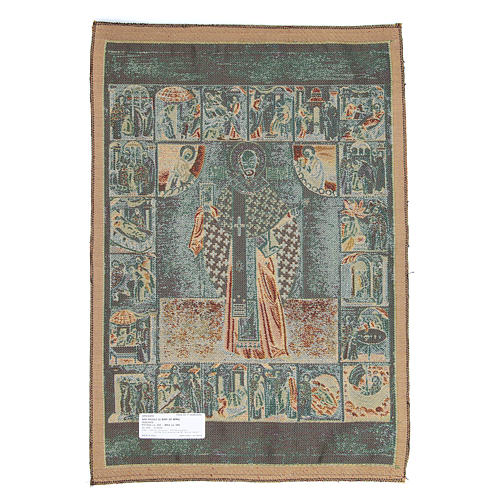 Saint Nicholas tapestry measuring 65x50cm 2