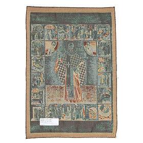 Tapisserie Saint Nicolas de Myre 65x45 cm s2