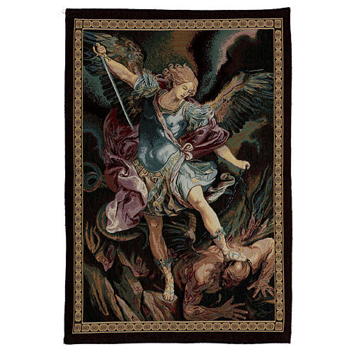 St Michael Archangel by Guido Reni 65x45cm 1