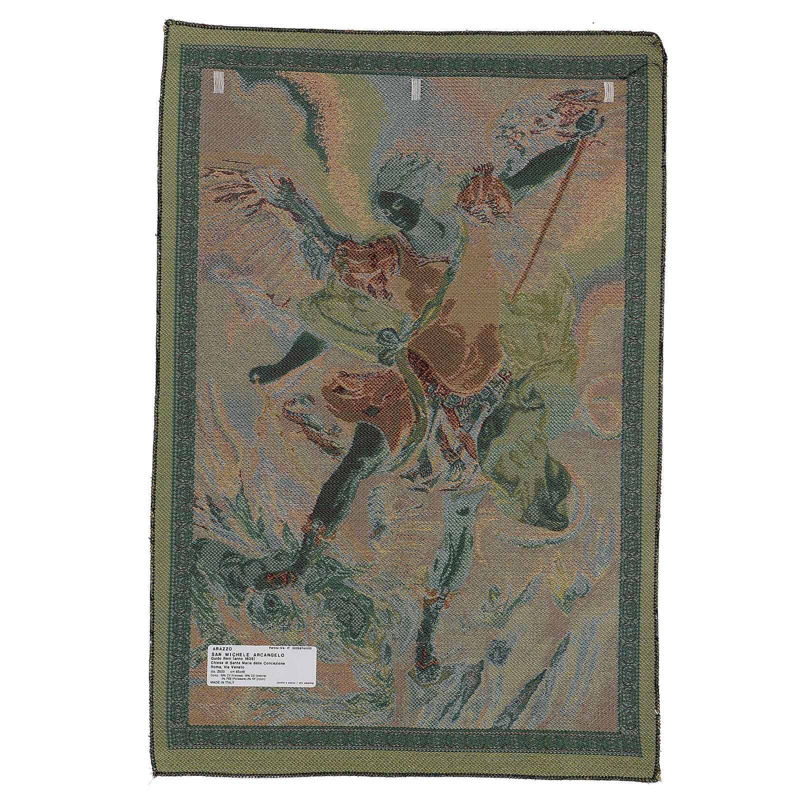 Tapiz San Miguel Arcángel Guido Reni 65 x 45 cm 3