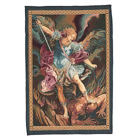 Tapeçaria São Miguel Arcanjo de Guido Reni 65x46 cm s1