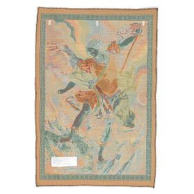 Tapeçaria São Miguel Arcanjo de Guido Reni 65x46 cm s2