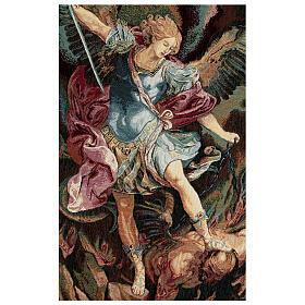 Tapeçaria São Miguel Arcanjo de Guido Reni 65x46 cm