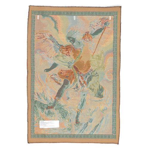 Tapeçaria São Miguel Arcanjo de Guido Reni 65x46 cm 2