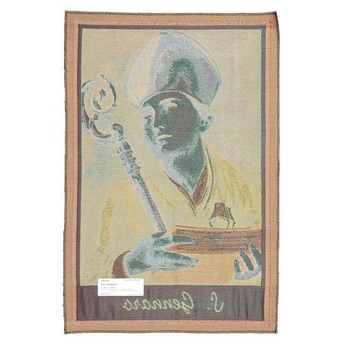 Tapisserie Saint Janvier de Bénévent 65x45 cm 2