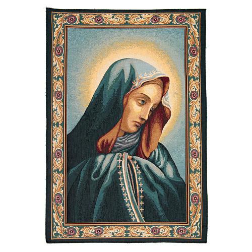 Sancta Mater Dolorosa tapestry measuring 65x45cm 1