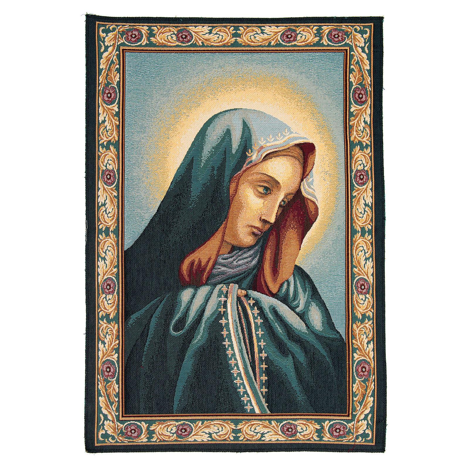Tapiz Mater Dolorosa 65 x 45 cm 3