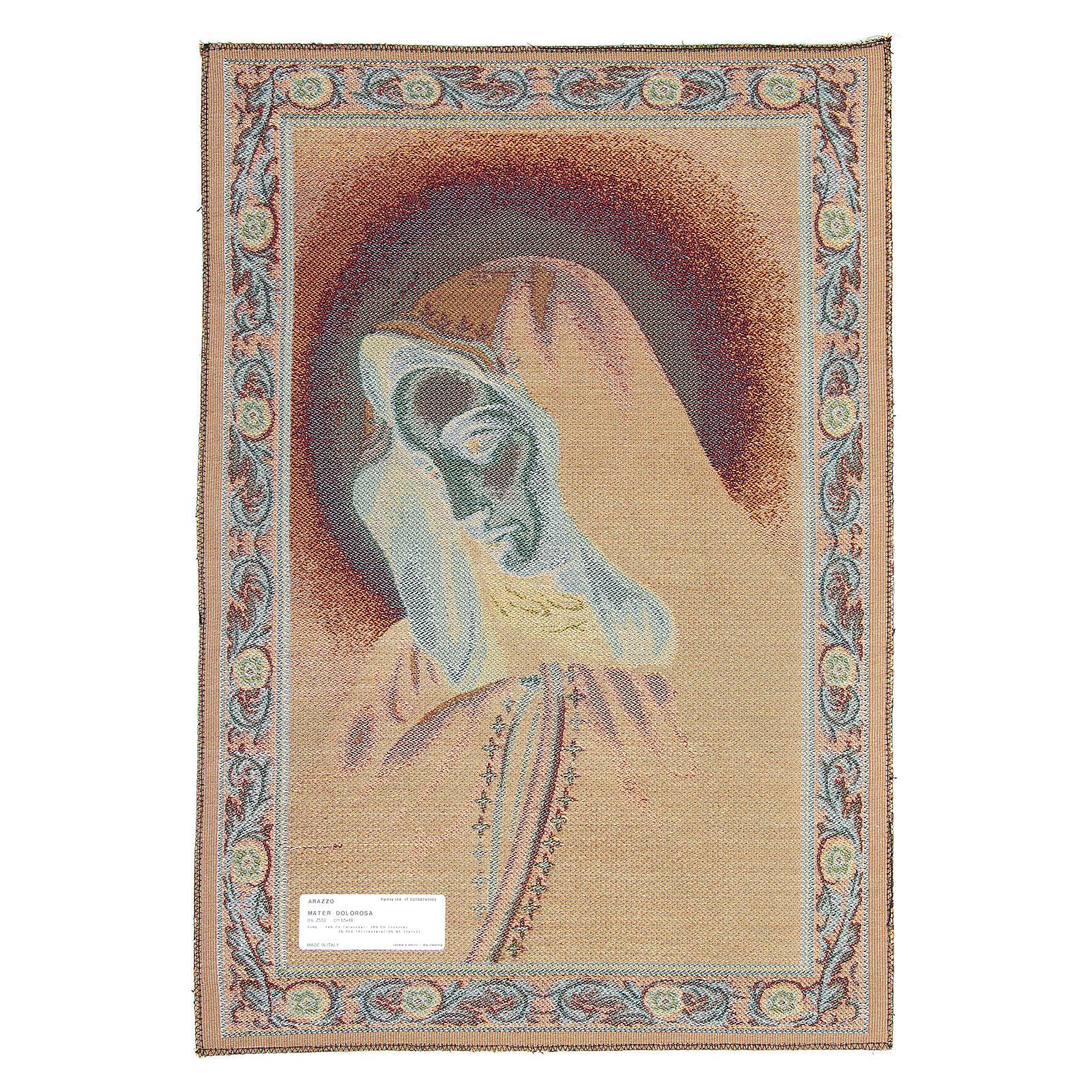 Tapisserie Mater Dolorosa 65x45 cm 3