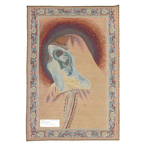 Arazzo Mater Dolorosa cm 65x45 2