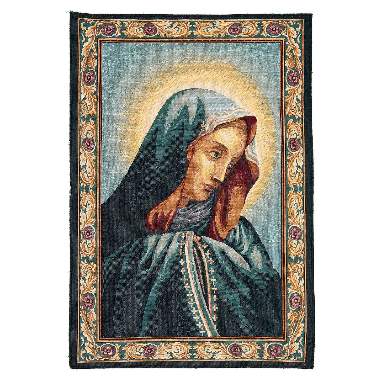 Sancta Mater Dolorosa tapestry measuring 65x45cm 3