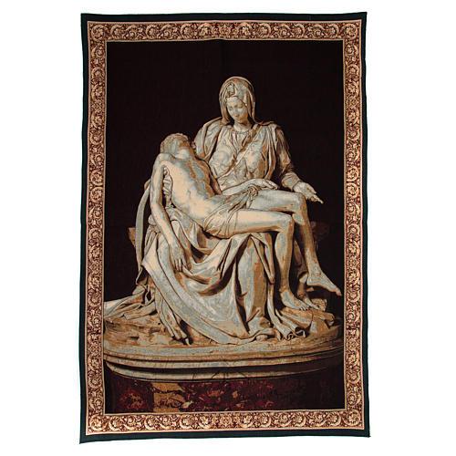 Arazzo Pietà di Michelangelo Buonarroti cm 140x100 1