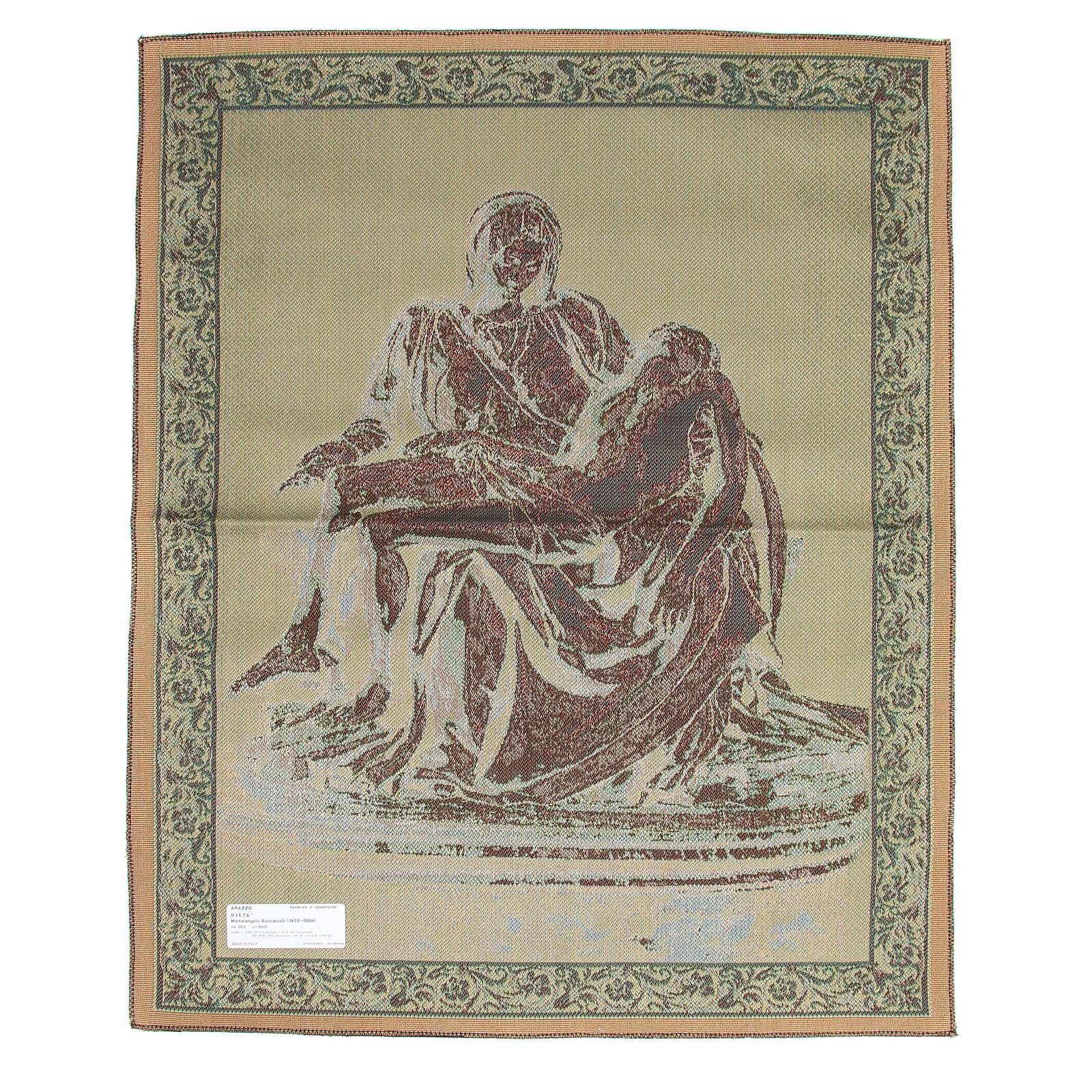 Tapestry Pietà by Michelangelo 85x65 cm 3