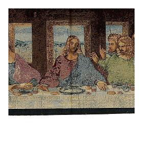 Arazzo ispirato all'Ultima Cena di Leonardo Da Vinci cm 30x130 s3