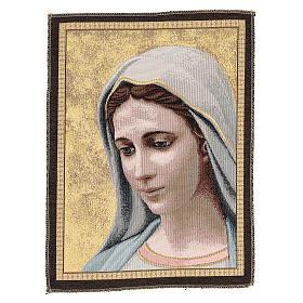 Tapisserie Notre-Dame de Medjugorje 30x45 cm s1