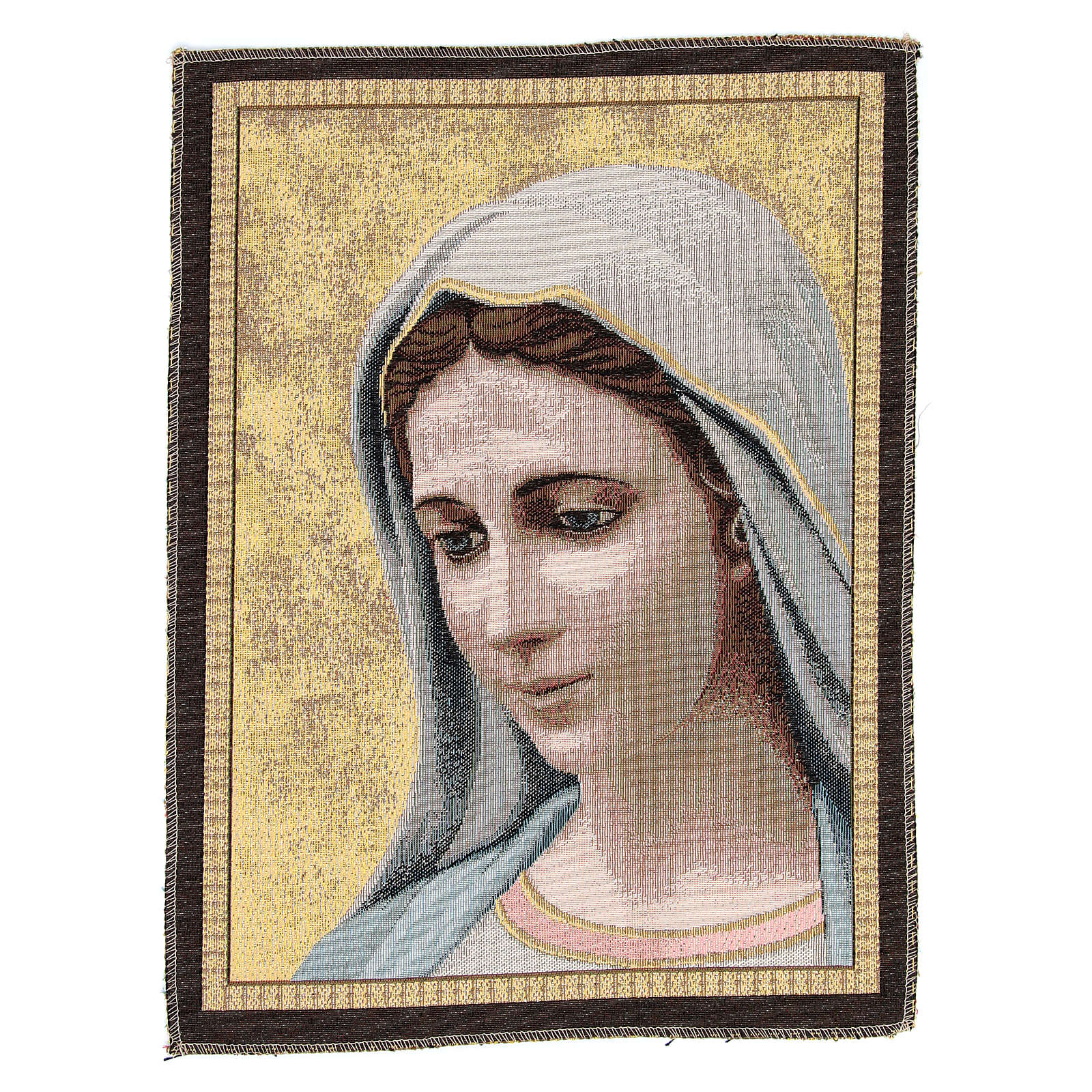 Arazzo Madonna di Medjugorje cm 30x45 3