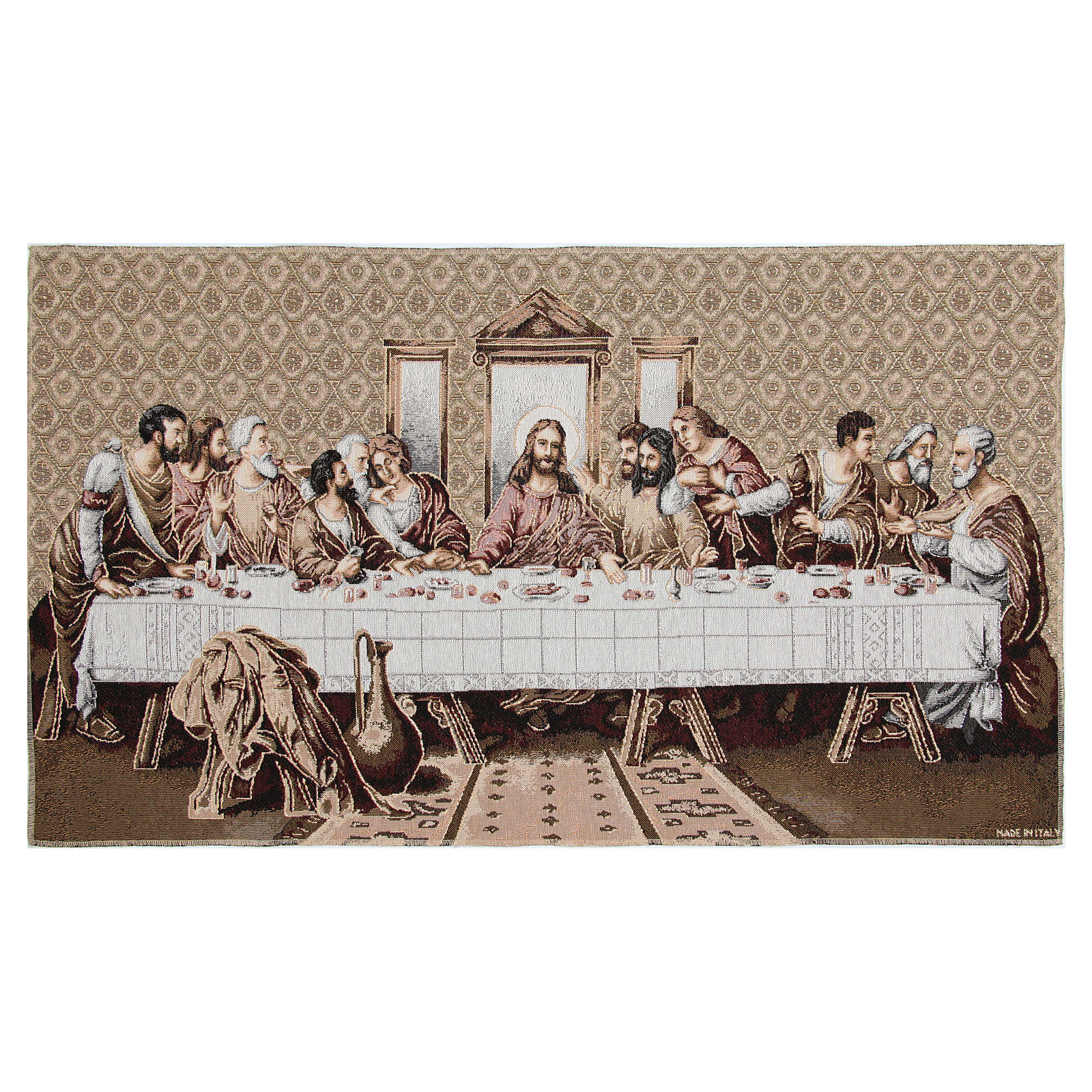 Last Supper tapestry measuring 45x80cm 3