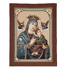 Arazzo Madonna Mutuo Soccorso 60x45 cm s1