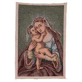 Arazzo Madonna dell'Aiuto 40x30 cm s1