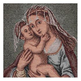Arazzo Madonna dell'Aiuto 40x30 cm s2