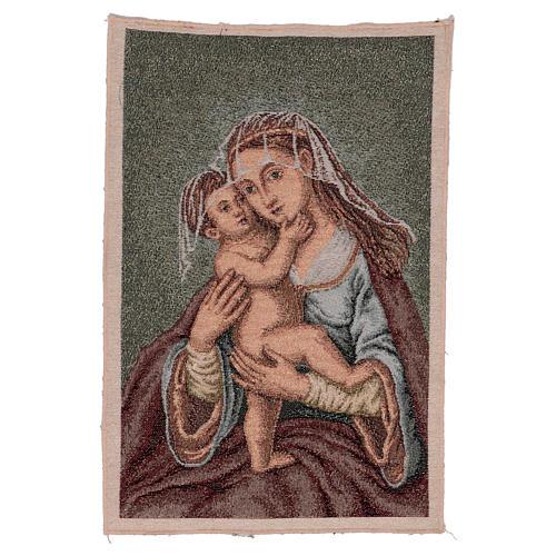 Arazzo Madonna dell'Aiuto 40x30 cm 1