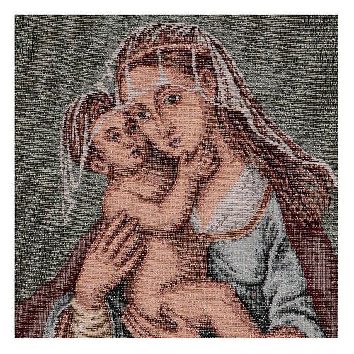 Arazzo Madonna dell'Aiuto 40x30 cm 2