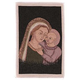 Arazzo Madonna del Buon Consiglio 40x30 cm s1