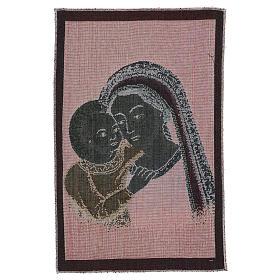Arazzo Madonna del Buon Consiglio 40x30 cm s3