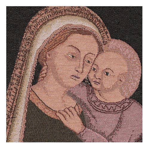 Arazzo Madonna del Buon Consiglio 40x30 cm 2